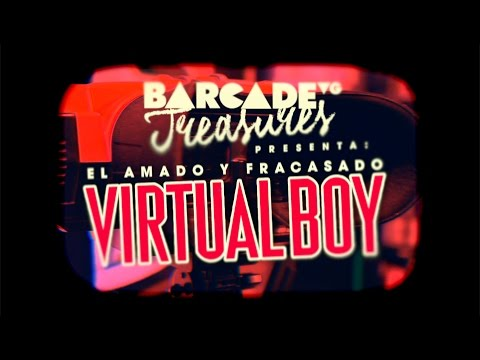 El amado y fracasado Virtual Boy - BarcadeVG Treasures