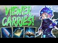 Scylla: VIEWER CARRIES THE EARLY GAME! - Smite