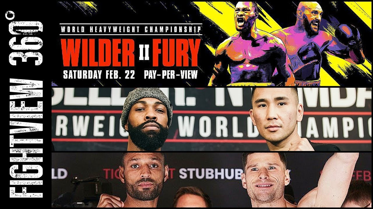 Wilder vs. Fury 2 Live: Ananyan Beats Matias in a Decision