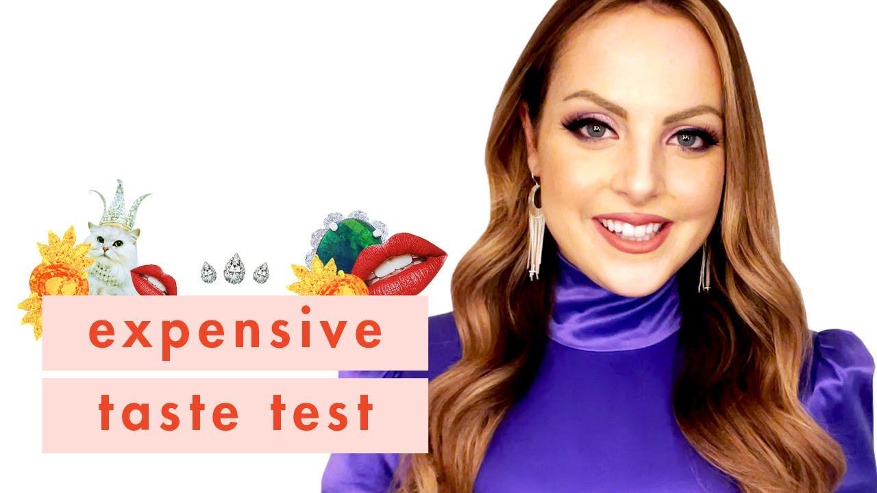 Dynasty's Liz Gillies Sings Her Way Through Our Expensive Taste Test | Cosmopolitan