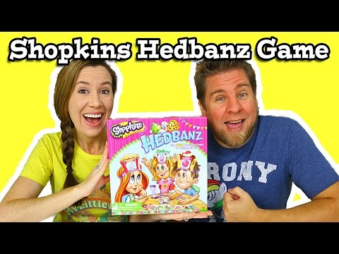 Shopkins Hedbanz Game Review