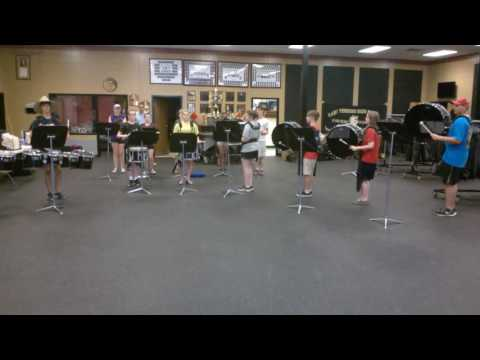 2016-17 Mary Persons High School Drumline