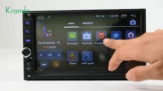"Krando 7"" android 7.1 car radio gps navigation multimedia system"