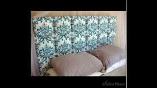 видео Спинка кровати своими руками: изготовление и декорирование (фото)