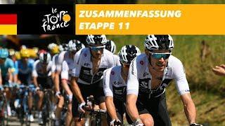 Zusammenfassung - Etappe 11 - Tour de France 2018
