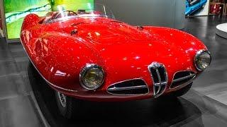 Alfa romeo 1900 C52 disco volante spider - geneva motor show 2016 hq