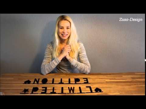 DIY letter slinger | Zusa-Design