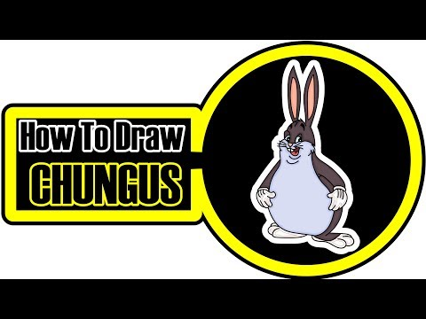 Easy Tutorial How To Draw Big Chungus Not Clickbait Youtube