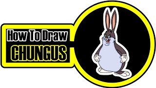chungus coloring easy draw pages step