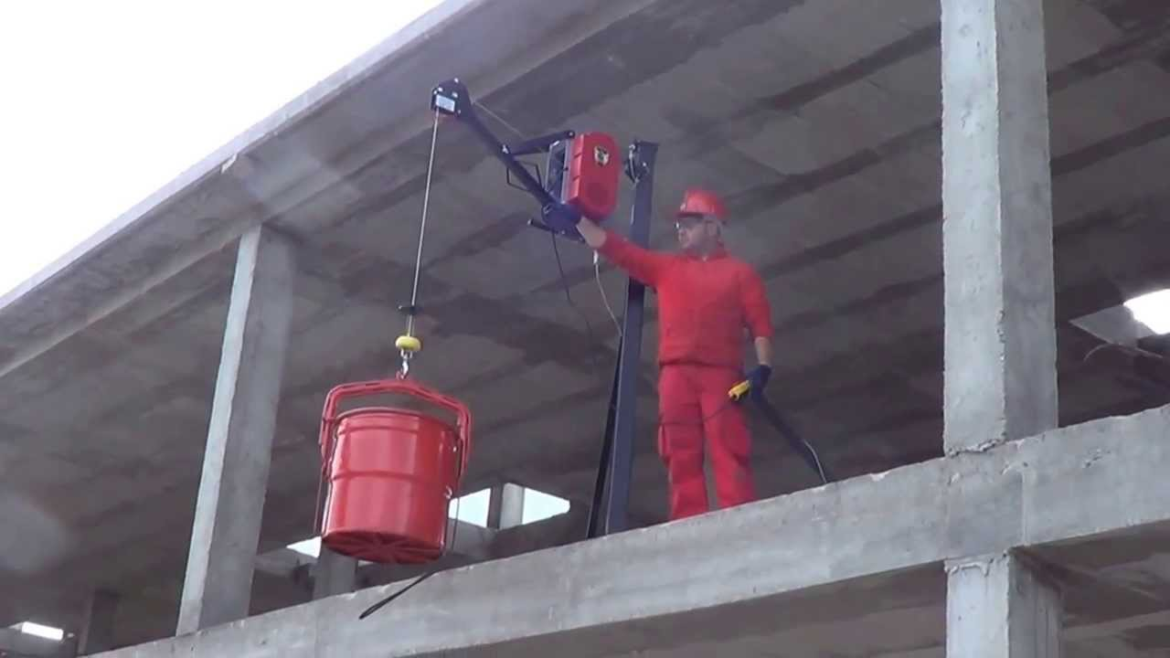 Maquinillo electrico 300kg para construccion youtube - Radiadores de pared electricos ...
