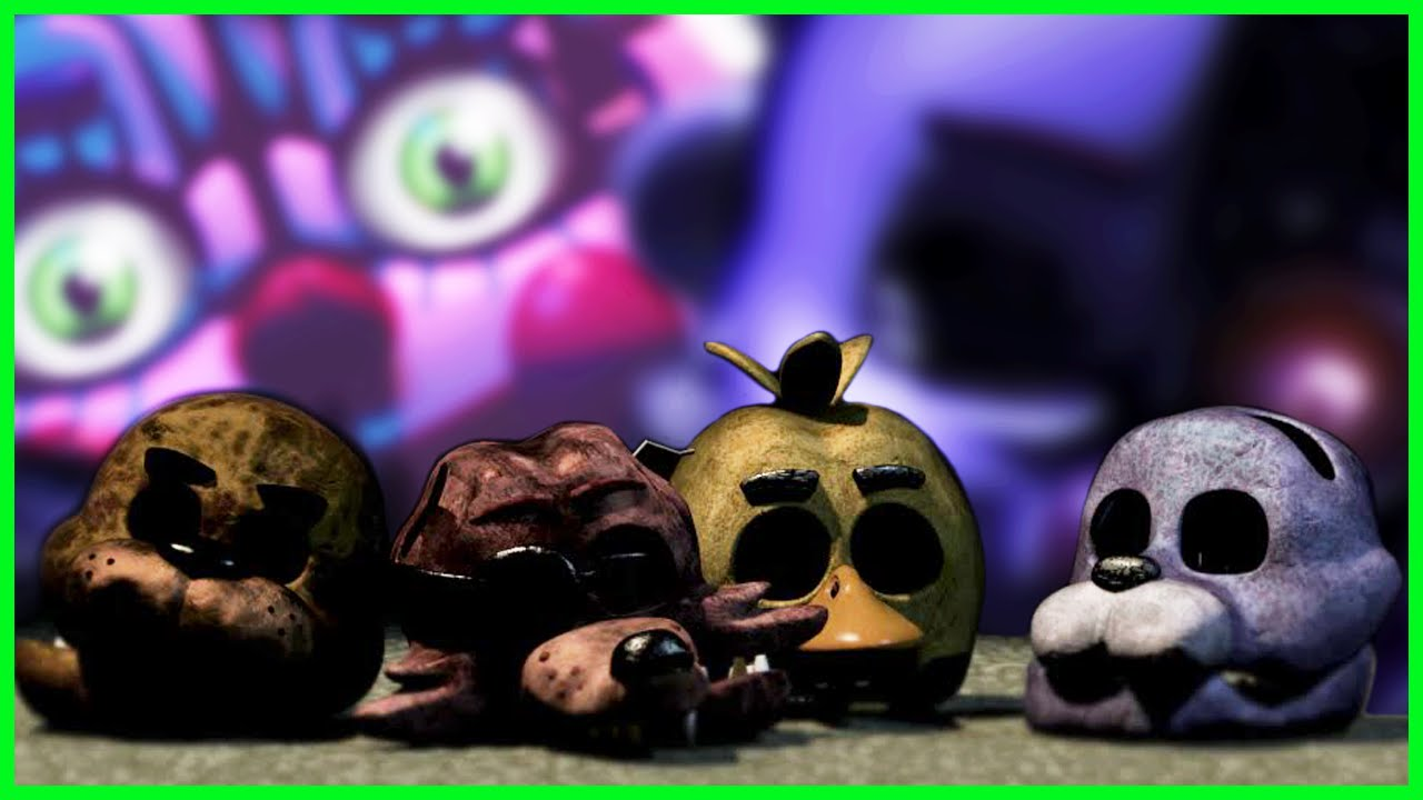THE OLD ANIMATRONICS MUST DIE FOR THE SISTER LOCATION    - Super