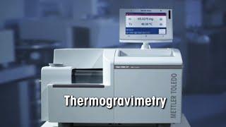 Thermogravimetric Analyzer (TGA) from METTLER TOLEDO