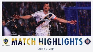 MATCH HIGHLIGHTS: LA Galaxy vs. Chicago Fire | March 2, 2019