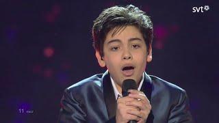 WINNER: Vincenzo Cantiello - Tu Primo Grande Amore (Italy) - live - Junior Eurovision 2014