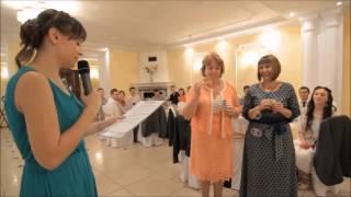 Веселый конкурс на свадьбе для мам