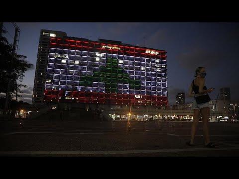 شاهد: تل أبيب تضيء مبنى بلديتها بعلم لبنان إثر انفجار بيروت…  - نشر قبل 2 ساعة