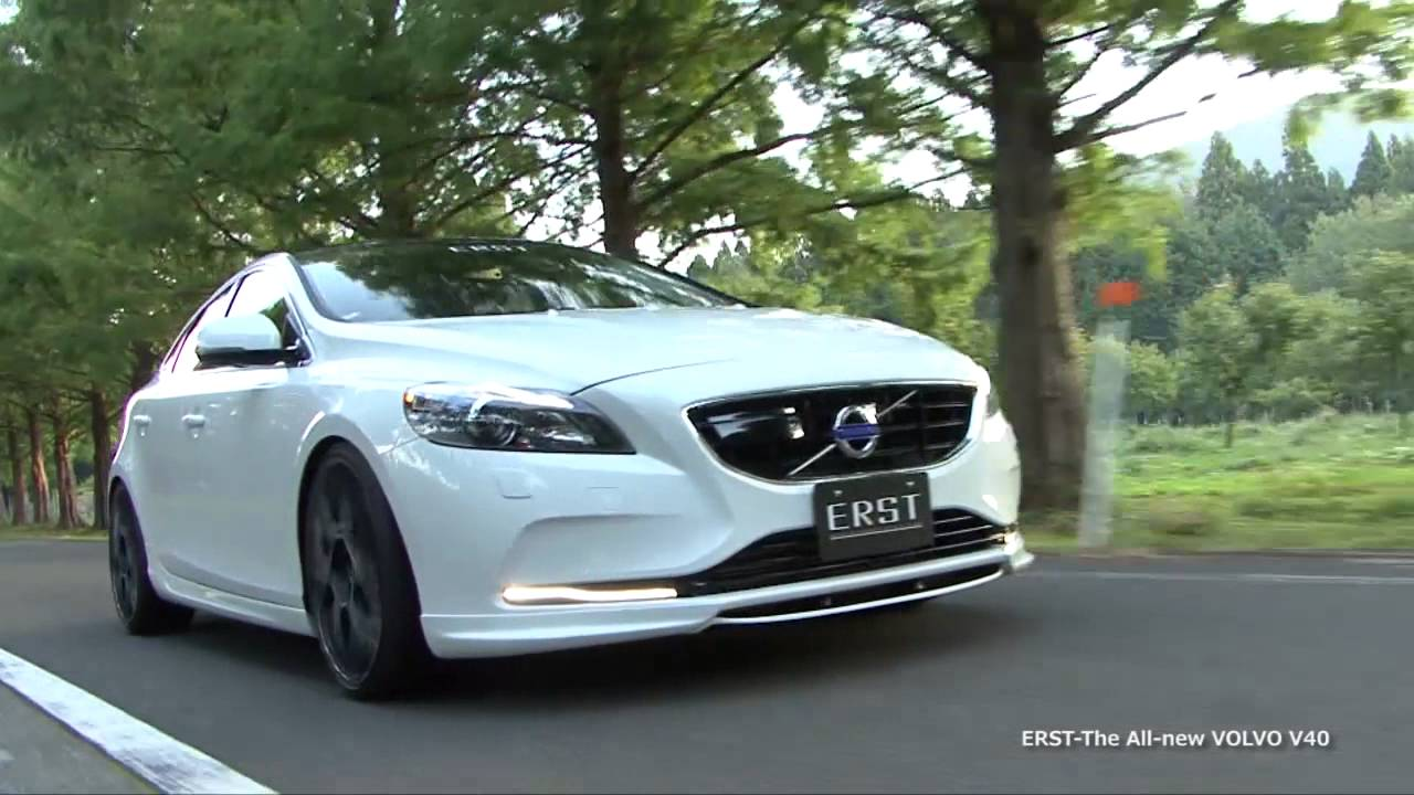 New Volvo V40 >> ERST The All-new VOLVO V40!! - YouTube