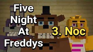 Minecraft - mapa FNaF 2 (CZ) třetí noc !