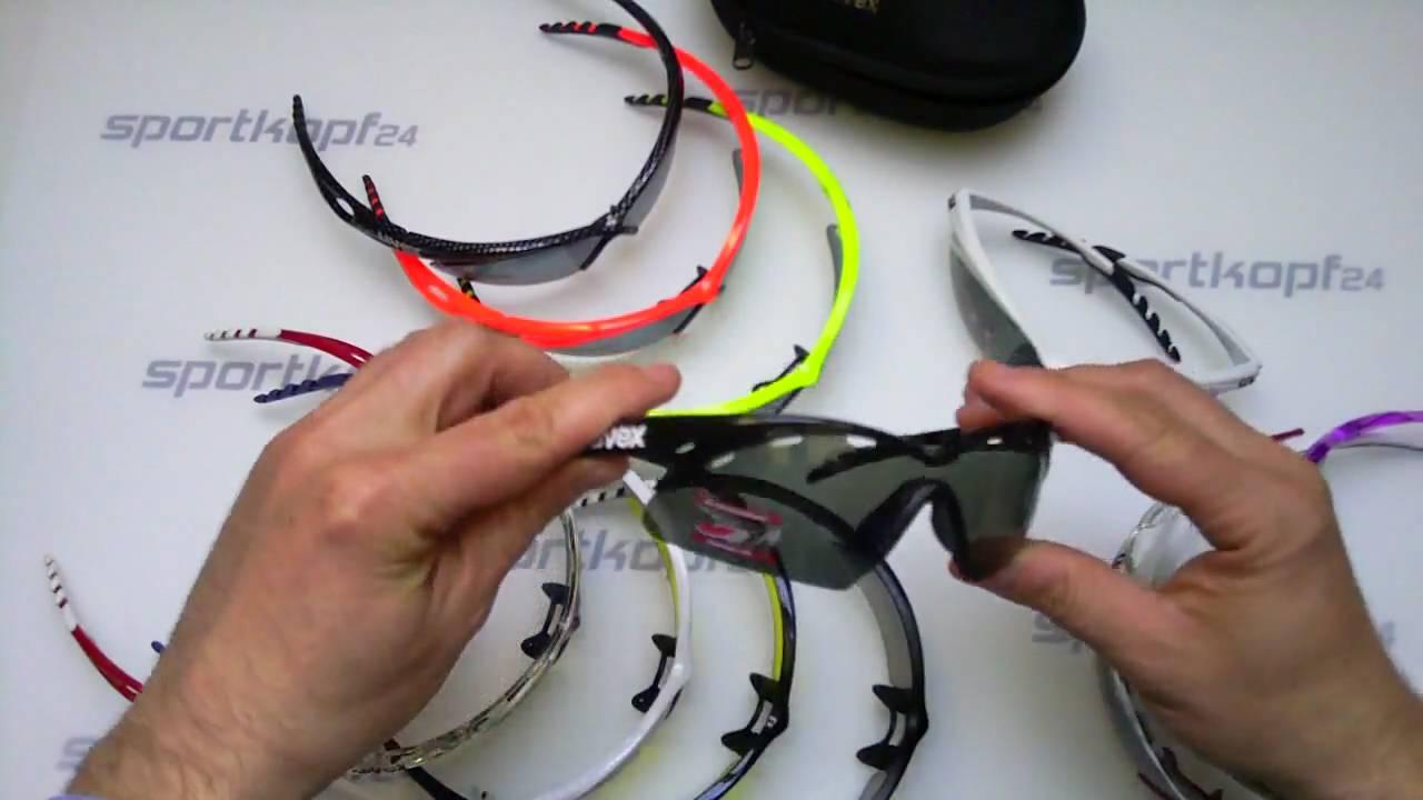 uvex crow pro Sportbrille Präsentation