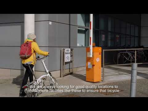Belfast Trust | Secure bicycle parking and facilities case study