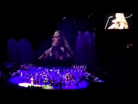 Andrea Bocelli Dec 2014 Madison Square Garden Featured Violinist Caroline Campbell Youtube