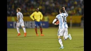 Ecuador vs Argentina (1-3) RESUMEN DE GOLES || Eliminatorias Sudamericanas Rusia 2018