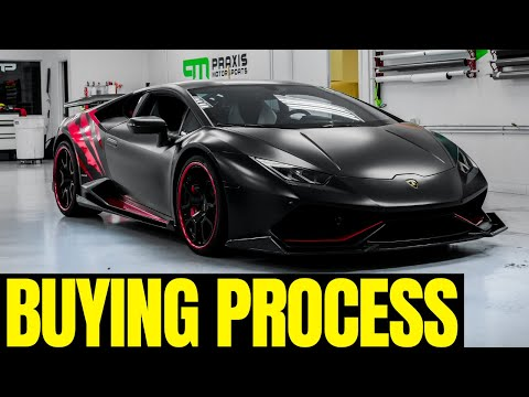 What It's Like Buying An Exotic Car At 18
