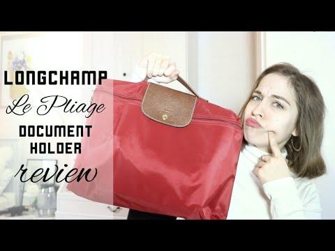 Longchamp Le Pliage Document Holder REVIEW