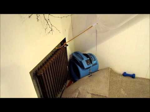 Saving Wet Basement Carpet With A Desiccant Dehumidifier