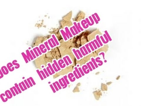 Safe Makeup: Mineral Not as Safe as We Thought?