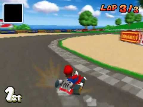mario kart ds mario circuit youtube. Black Bedroom Furniture Sets. Home Design Ideas