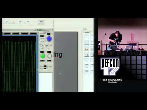 DEF CON 17 Hacking Conference Presentation By Chris Paget - RFID Mythbusting - Video and Slides