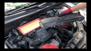 Schimbare Filtru de Aer - Ford Fiesta 2008 (MK6 - 1.4d)
