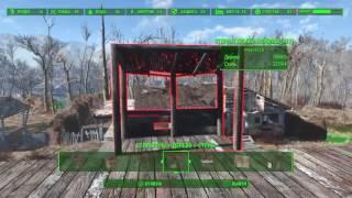Fallout 4 строим дом с подвалом