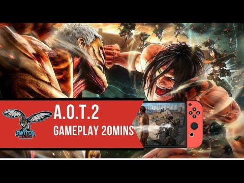 Attack On Titan 2 Nintendo Switch Gameplay (Final Build)