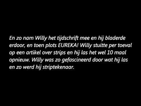 Het leven van Willy Vandersteen