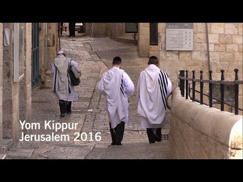 Yom Kippur 2016 in Jerusalem