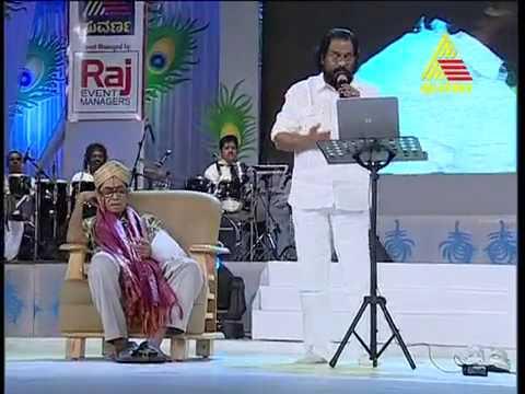Harivarasanam -k.j.yesudas live in bangalore