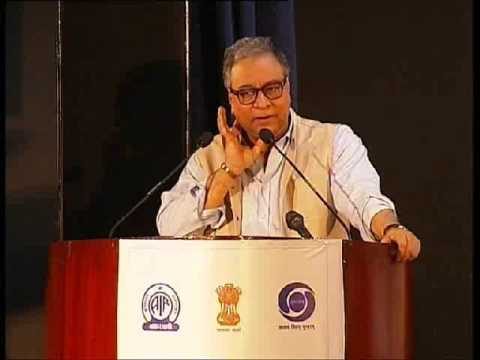 Jawhar Sircar talks about History of Radio, TV and Prasar Bharati