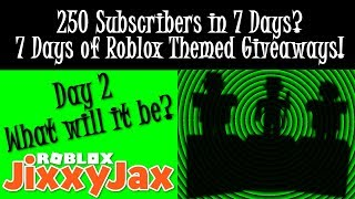 Roblox | Day 2: 7 Days of Giveaways for 250 Subs! ✦ Dang Bunny Hoppin' Noobs | JixxyJax