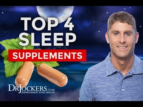 Top 4 Supplements To Improve Sleep Quality