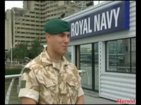 Royal Marine gets George Cross