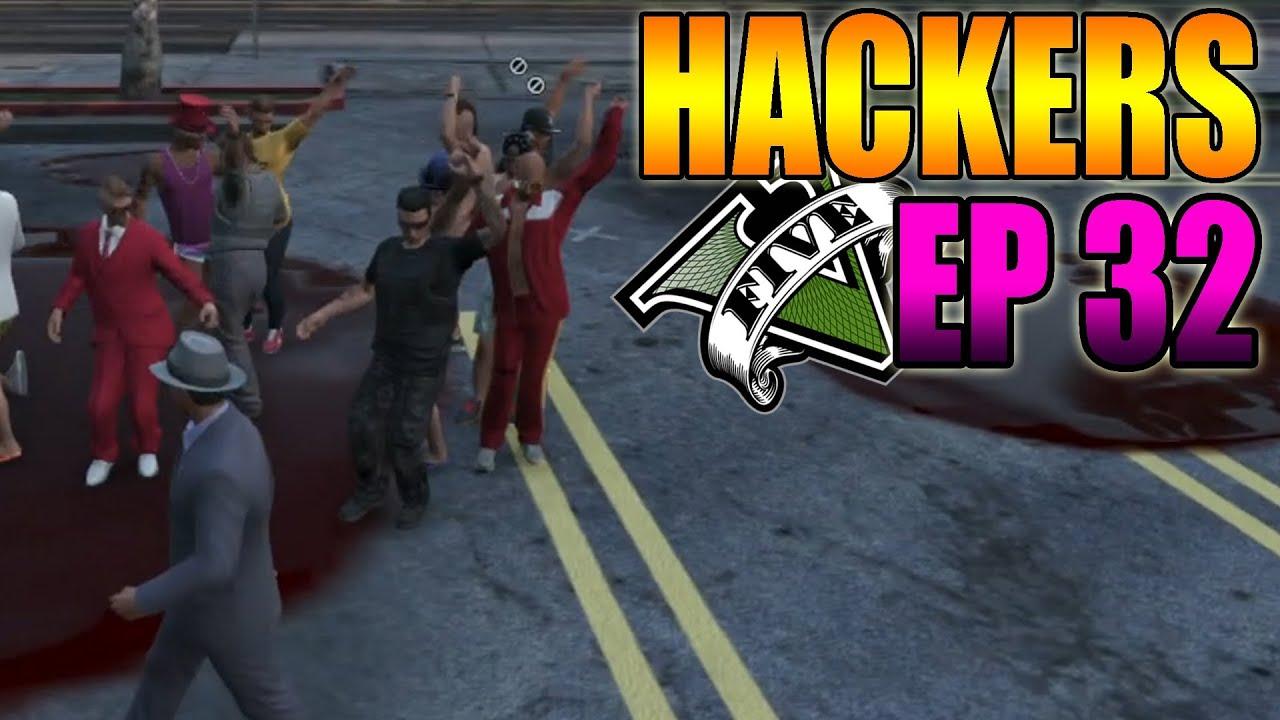 Hackers En GTA V Online #32 - Bailando, Coche Lanza Misiles, Electrocutar Gente - MOD Hack GTA 5