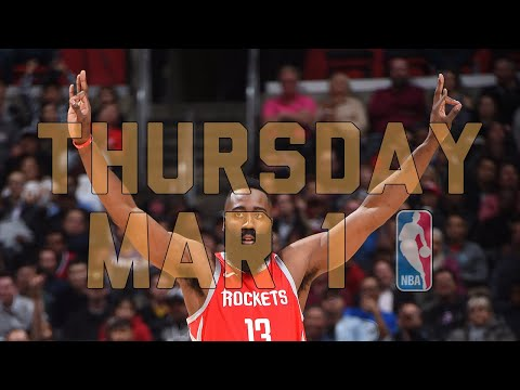 NBA Daily Show: Mar. 1 - The Starters