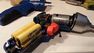 Cambio de batería a destornillador eléctrico