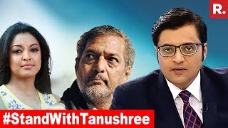 National Support Grows For Tanushree Dutta, Will She Get Justice? | The Debate With Arnab Goswami