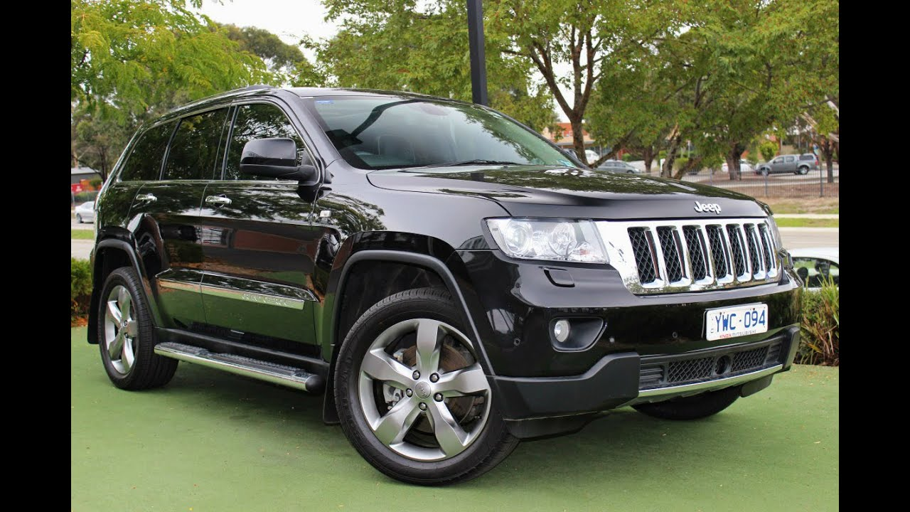Delightful B5111   2012 Jeep Grand Cherokee Overland Auto 4x4 Review