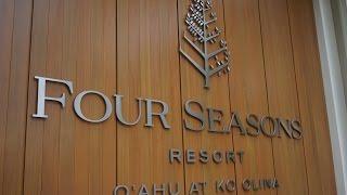 Four Seasons Oahu at Ko Olina  Hawaii Oceanview Junior Suite.