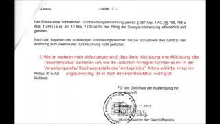 Fortsetzung Hamburg Gerichtsvollzieher kann nichts ausrichten