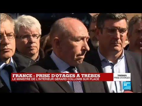 Prise d'otages à Trèbes : Tous les détails donnés par Gérard Collomb, ministre de l'Intérieur